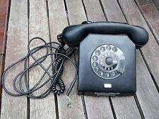 Telefon W63a Bakelit Sammler guter Zustand DDR RFT Nordfern Wählscheibe ALT /7