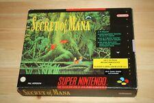Super Nintendo * SECRET OF MANA * SNES !! SNSP-K2-NOE