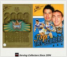 2009 NRL Classic Predictor + Top Tryscorer Card TT5 K. Gordon/ M. Roger (Titans)