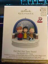 """2010 Hallmark Keepsake Magic The Peanuts Gang """"Ho Ho Ho Tasty Snow!"""""""