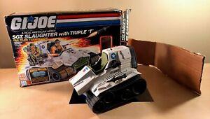 GI JOE TRIPLE T VEHICLE WITH ORIGINAL BOX 1986 G.I. JOE 100% COMPLETE #2