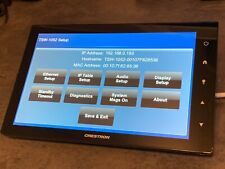 Crestron Tsw-1052-B-S 10.1� Automation Touch Screen Panel w/Wall Mount Black