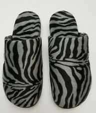 Vionic Women's Size 10 Clog Slipper Indulge 26Gemma Dark Grey Zebra EU 42 UK 8
