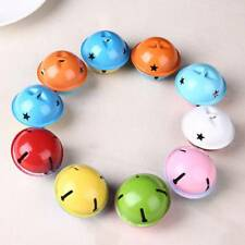 5pcs 40mm Colorful Metal Jingle Bells Pendant Charm Craft Beads Making DIY Craft