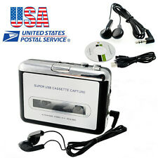 USA SHIP Tape to PC MAC USB Cassette-to-MP3 Converter Capture Audio Music Player