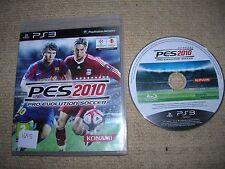PRO EVOLUTION SOCCER 2010 - Rare Sony PS3 Game