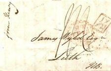 GB HISTORIC LETTER 1836 Cover re CHINA SHIPWRECK COFFEE HOUSE Add Half {L1836.2}