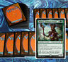 mtg GREEN LANDS DECK Magic the Gathering rares 60 cards multani ulvenwald hydra