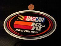 NASCAR PRO SERIES Sticker / Decal  ORIGINAL old stock AUTOMOTIVE