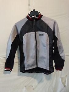 Sportful Bormio Lady Wind Stopper Jacket, Black/Grey Small