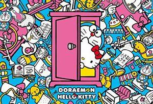 1000 Piece Jigsaw Puzzle Doraemon × Hello Kitty Secret Tool 49X72Cm Beverly