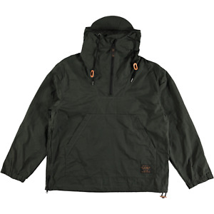 Filson Lightweight Waxed Anorak Jacket Dark Spruce