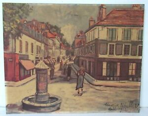 Maurice Utrillo RARE ORIGINAL OLD  Print, French, 1883-1955