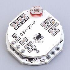 Doppler 12-50V LED Microwave Radar Sensor Switch Module MOS For Spherical Bulb