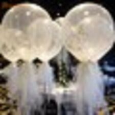 10pcs 36'' Jumbo Large Round Latex Balloons Transparent Clear Giant Wedding Ball