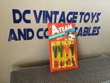 Vintage 1983 Galoob The A Team Soldiers Of Fortune 4 Pack Set On Card UNPUNCHED