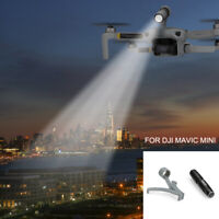 For DJI Mavic Mini Drone LED Flashlight Night Flight Indicator Searchlight Mount