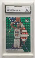 2019-20 MOSAIC GREEN PRIZM #282 CHARLES BARKLEY TEAM USA GMA 10 GEM MINT