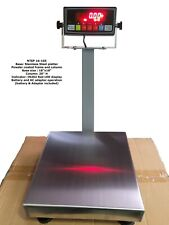 """New listing Nt4545 Ntep 18""""x18"""" Bench Scale with Rs-232 Port / 600 lbs x 0.1 lb"""