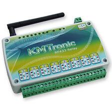 KMTronic USB RF433MHz Serie COM circuito controlador de 8 reles, 12V