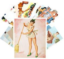 24 Postkarten Set * Retro Sexy Girls Magazine CC1049