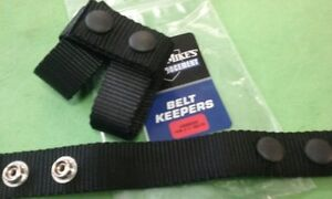 """NYLON BELT KEEPERS  PKG OF 4 UNCLE MIKE  UP TO 2 1/4"""" BELT"""