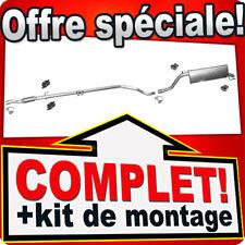 Échappement FIAT GRANDE PUNTO 1.3 D Multijet 2007-2010 Silencieux B49A
