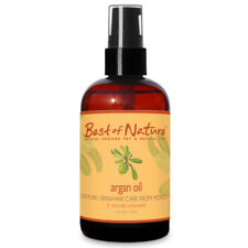 Best of Nature 100% Pure Argan Skin & Hair Oil - 4 Ounce Pump Bottle