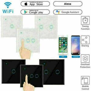 Smart WiFi Lichtschalter Touch Schalter Wandschalter APP Alexa echo Google Wlan