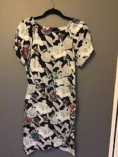 Topshop 10 Dress floral Tea Day Shift Weekend Blogger Trend