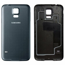 Genuine 100% Original New Samsung S5 Battery Back Cover Housing Rear Case Black