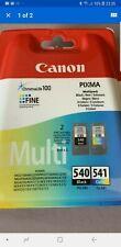 Genuine Original Canon PG-540 CL-541 Ink Cartridges For Canon Pixma NEW