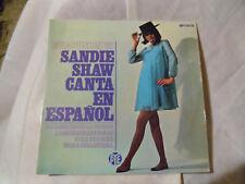 """Sandy Shore canta en español"". 4 Track EP P/S Orig. España Pye hpy 337 35."