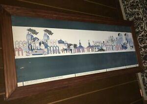 1984 NEW ORLEANS WORLDS FAIR WONDER WALL POSTER Framed Print CHARLES MOORE PROMO