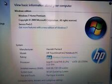 HP Touchsmart tm2t-2100 12.1in. Intel Core i5, 8GB, Windows 7