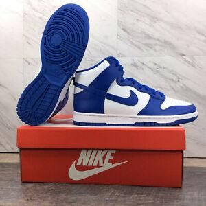 Nike Dunk High Game Royal Total Orange Kentucky DD1399-102 Men's Size 10