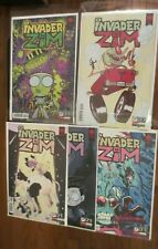Invader Zim 41 42 43 44 45 variant cover comic book set by Jhonen Vasquez