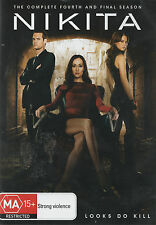 MAGGIE Q: NIKITA Season 4 *New & SEALED*  2-DVD Set Region 2