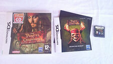 PIRATAS DEL CARIBE PIRATES CARIBBEAN NINTENDO DS DSI 2DS 3DS XL PAL UK INGLÉS