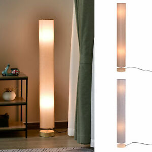 120 cm Tall Floor Lamp for Warm Lighting in Living space w/ Fabric