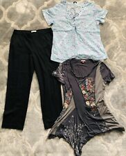 Bundle Of Ladies Size 14 Clothes Joe Browns 12/14 Tops & Trousers