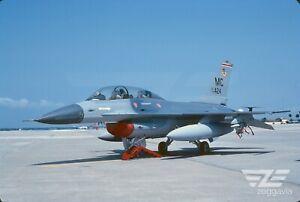 Original slide 79-0424 Lockheed F-16 U.S. Air Force, USAF, 1988