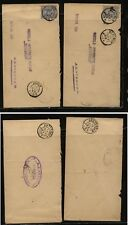 Netherlands   2  covers  local use  1895   GP0508