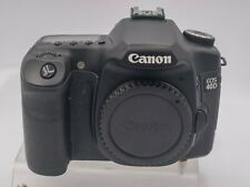 Canon EOS 40D Digital SLR Camera Body - Read! Live View Only Err 99 - 6.5K Accs