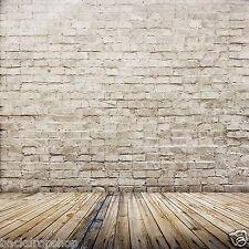 LB 3X5ft Brick wall Vinyl Studio Backdrop Photography Photo Prop background ZZ44