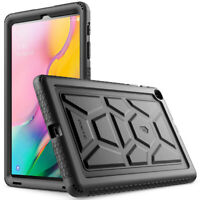 Poetic Silicone Protective Cover Case For Galaxy Tab A 10.1 Tablet Black