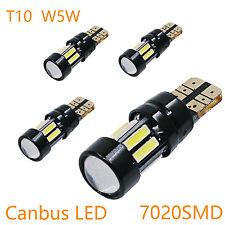 4x Super hell Canbus T10 W5W 10SMD 7020 LED 6000K Standlicht Leuchte Birne WEISS