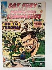SGT. FURY AND HIS HOWLING COMMANDOS #49 in VF/NM (8.5/9.0)