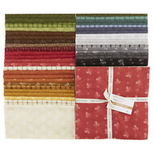 "Heritage Woolies Flannel by Bonnie Sullivan Maywood Studio 10"" Square Layer Cake"