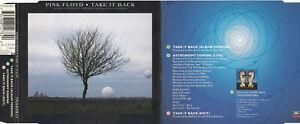 Pink Floyd - Take It Back  (3 Track Maxi CD)
